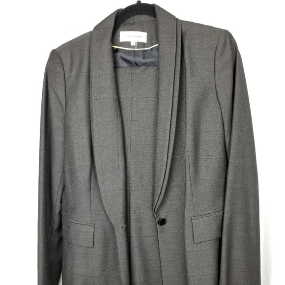 Calvin Klein Jackets & Blazers - Calvin Klein double breasted suit size 8 gray